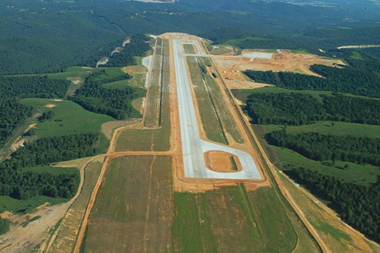 A lawsuit alleges that faulty engineering led to the foundation beneath a Branson Airport runway to give way.