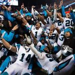 Carolina Panthers headed to Super Bowl 50; Highlights from the NFC championship (Photos)