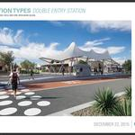 City unveils nearly finished designs for bus rapid transit stations