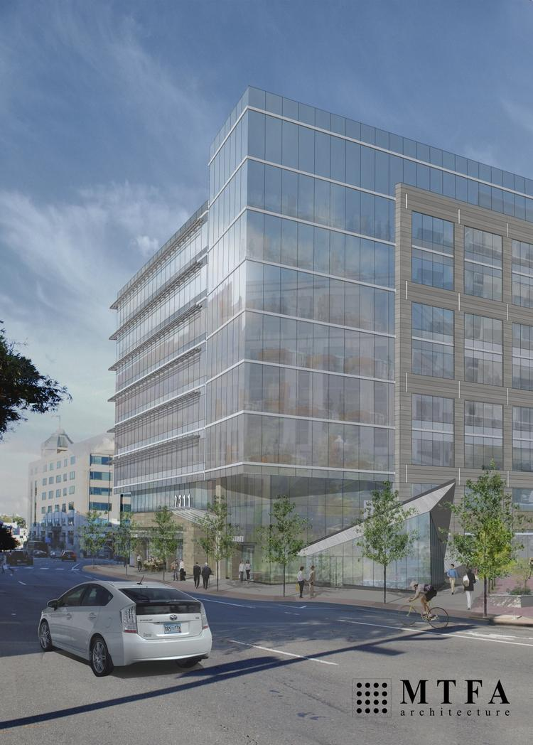 A team including Carr Properties plans to submit building permits later this year or in early 2014 to develop a mixed-use project near the Courthouse Metro.