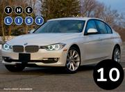 No. 10: BMW 3-series Number sold: 3,672
