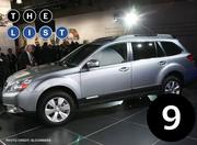 No. 9: Subaru Outback Number sold: 3,704