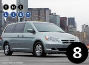 No. 8: Honda Odyssey Number sold: 3,742