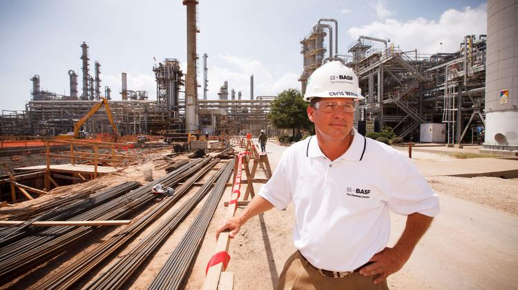 BASF to build another chemical plant in Freeport, Texas