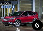 No. 6: Honda CR-V Number sold: 5,828