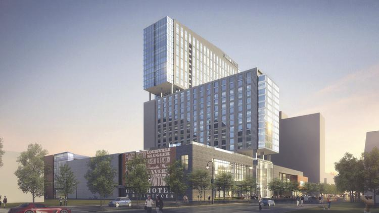 The 30 Story Omni Hotel Is Expected To Open In 2018