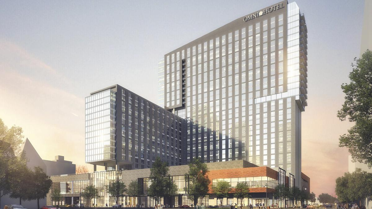 Omni Louisville Hotel Construction To Begin Showing Visual