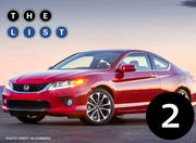 No. 2: Honda Accord Number sold: 9,287