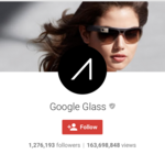 ​Google Glass social media accounts wiped clean in anticipation of an enterprise edition