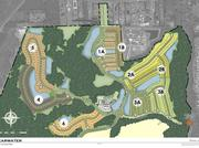 This shows the planned phases of the 1,500 acre development called Shearwater in St. Johns County along County Road 210