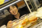 Lisa Lin, supervisor/server for Panya Bistro, organizes a variety of desserts and specialty pastries in the new Panya Bistro in the Hokua.