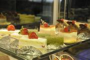 An assortment of pastries and desserts are part of the menu at the new Panya Bistro in the Hokua.
