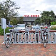 San Antonio installed a B-Cycle at the Full Goods Building at Pearl Brewery.