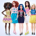 Barbie dolls now come in all shapes and sizes