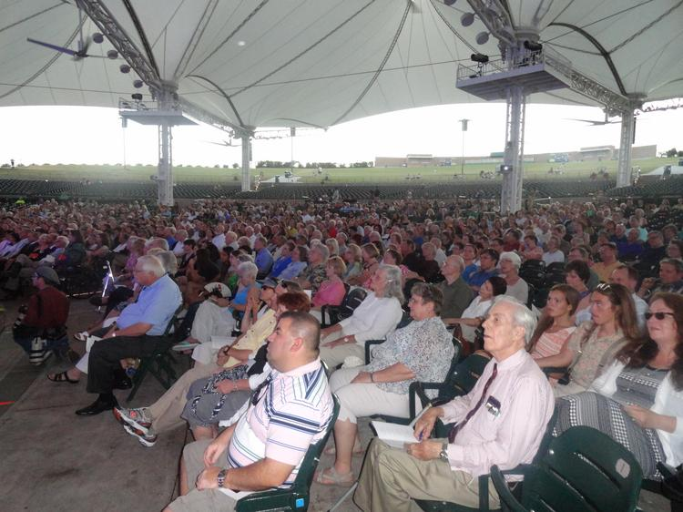 Thousands turned out at the Cynthia Woods Mitchell Pavilion Thursday night for a memorial tribute to Houston-area business titan George P. Mitchell, who passed away July 26 at age 94.  Click through the slideshow to see more images from the evening.