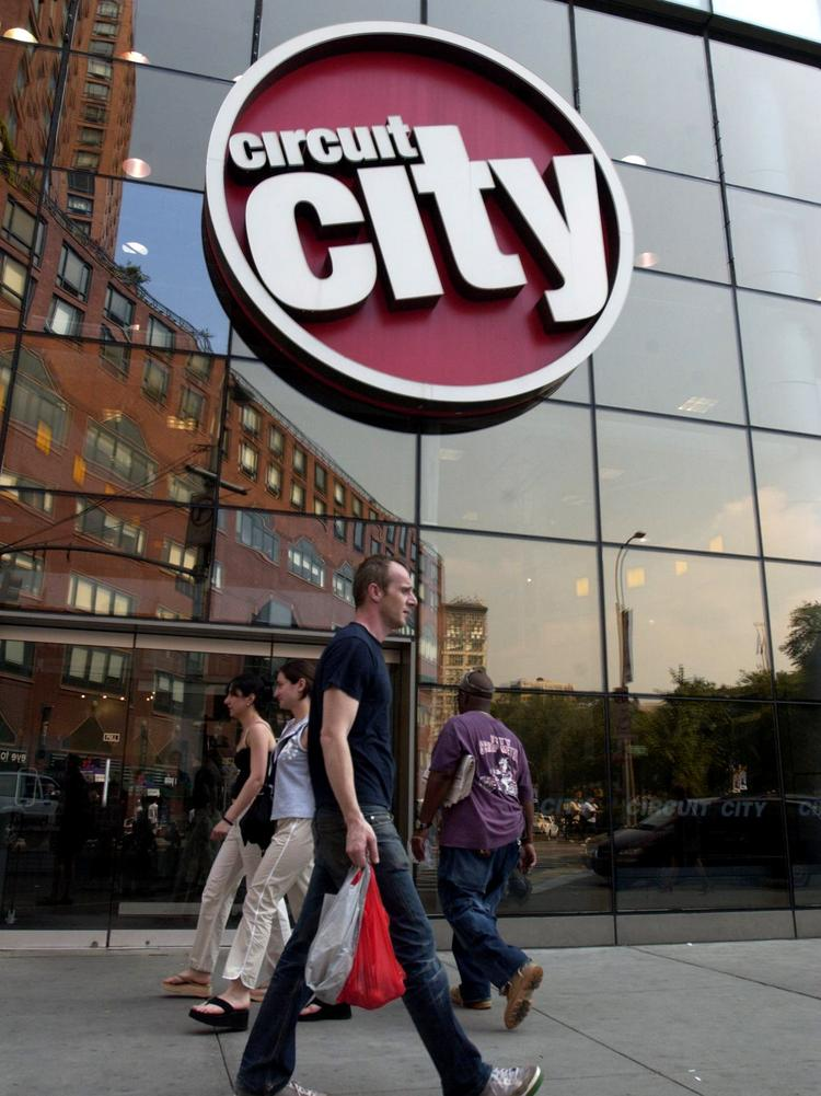 Circuit City Is Looking For Properties Between 5000 And 7000 Square Feet