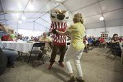 Bucky Badger and the University of Wisconsin Marching Band made an appearance.