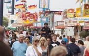 A recent view of the crowds at the 2013 Wisconsin State Fair