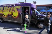 The Fur Bus brought guests to and from to Lindbergh Station free of charge.