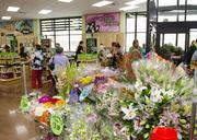 Flowers at the Lower Greenville store.
