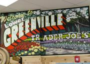 Trader Joe's on Lower Greenville gives a nod to it's neighborhood and city with several in store murals.