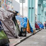 In Super Bowl City's shadow, small businesses struggle with homeless encampments