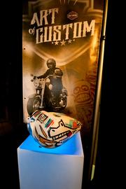 Harley Davidson has LEBO's work in its museum. Here is one tank LEBO painted.