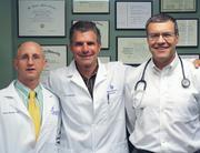 Physician finalists Drs. Curry, Brooks and LoVecchio of the Banner Good Samaritan Poison and Drug Information Center.
