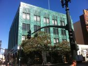 The I. Magnin building on Broadway in Oakland.