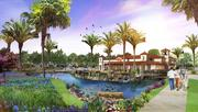 Unicorp National Development's Parkside at Dr. Phillips retail center will include a lakeside cafe.