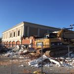 Demolition makes way for expansion in Friendly Center