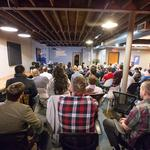 90 attend first Wichitalks event Friday night