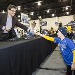 Attanasio stresses patience to Brewers fans at team's On Deck event: Slideshow