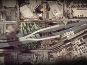 The proposed 1.4-acre park would run underneath a reconstructed Interstate 395 in Miami.
