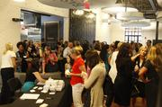 People network during the launch of Evolve Women.