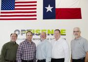 Phil Davis, Vice President of Engineering, Trey Beasley, Vice President of Sales and Business Development, Dennis Britt, Vice President of Operations, Stephen Prince, CEO, Scott Durham, VP Global Sales