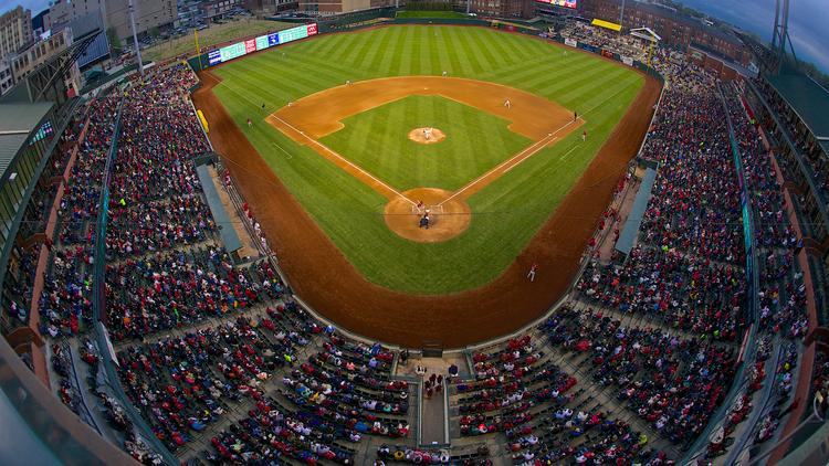 memphis redbirds cheer 10 million visitors to autozone park improving attendance memphis. Black Bedroom Furniture Sets. Home Design Ideas