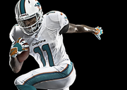The new Miami Dolphins uniforms, designed by Nike Inc., made their debut in last week's NFL Hall of Fame Game.