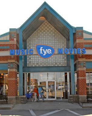 FYE music and video chain is owned by Trans World Entertainment Corp.