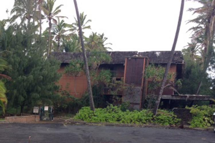 Coco Palms Resort has remained closed since hurricane Iniki struck the Garden Isle on Sept. 11, 1992.