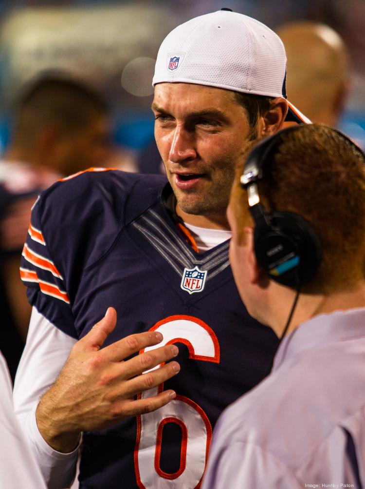 Chicago Bears quarterback Jay Cutler.
