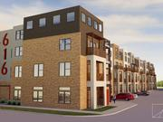 Lofts will wrap around Stoke when construction is complete.