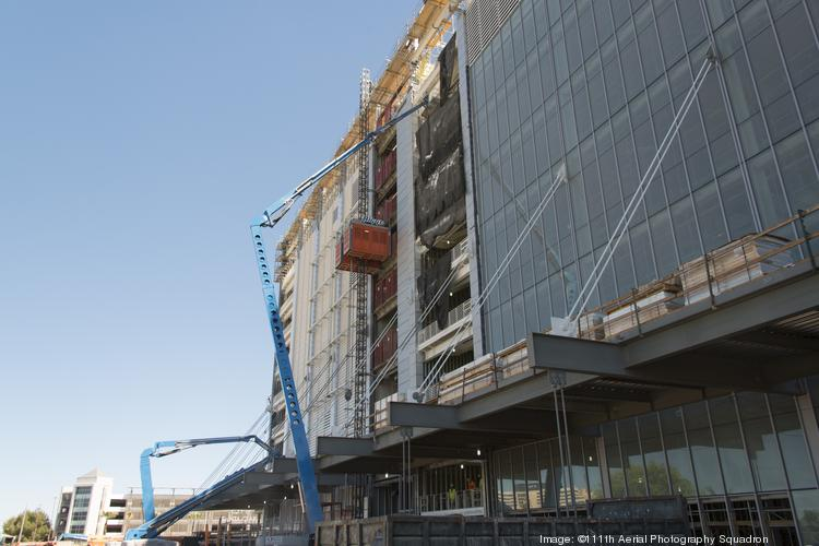 The 49ers new stadium in Santa Clara is a few weeks ahead of schedule, but hotels in the area are already booming.