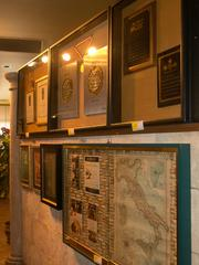 Mementos from throughout the year line the dining room walls. Century Auction Group expects 200 to 300 prospective buyers to attend the auction.