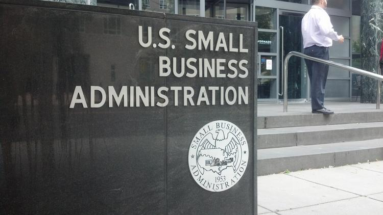 U.S. Small Business Administration loans have come to a halt due to the government shutdown.
