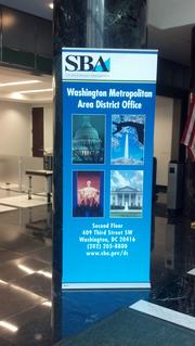 The Small Business Administration's Washington Metropolitan District office.