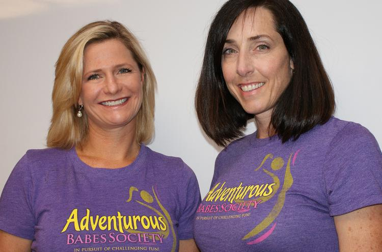 Kathy Mihelic and Elizabeth Hotaling are co-founders of the Adventurous Babes Society.