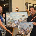 Punahou Carnival art gallery opens: Slideshow