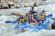 The Adventurous Babes went rafting during their national convention in Manitou Springs, Colo.