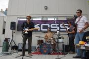 The band Thriftones performed for the crowd Aug. 9.